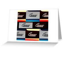 Camaro by Chevrolet Greeting Card