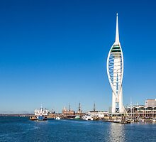 Spinnaker Tower, Portsmouth Harbour by Graham Prentice