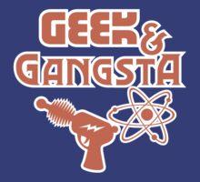 Geek & Gangsta - Nerdy Retro Science Fiction Humor by TropicalToad