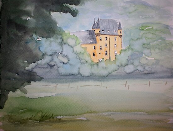 Schloss Strauweiler by Claudia Dingle