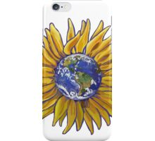 Sunflower Earth iPhone Case/Skin