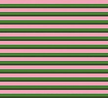 Pink Roses in Anzures 3 Stripes 2H by Christopher Johnson