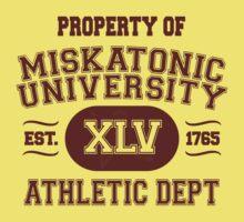 Property of Miskatonic University Athletic Dept Kids Clothes