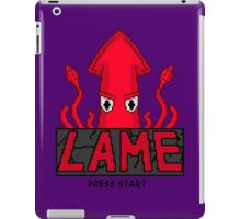 LAME Squid Pixel Art iPad Case/Skin