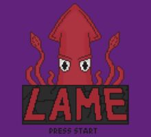 LAME Squid Pixel Art by GrimDork