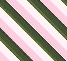 Pink Roses in Anzures 3 Stripes 3D by Christopher Johnson