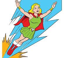 Thunder Girl - The World's Mightiest Girl by bigbangcomics