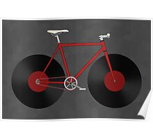 Record Fixie Poster