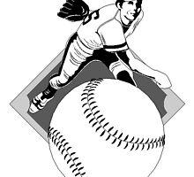 Baseball Pitcher by kwg2200