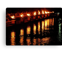 Reflections of Fire Canvas Print