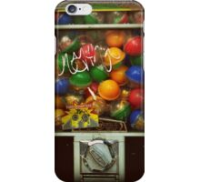 Gumball Machine Series - with Graffiti Burst - Iconic New York City iPhone Case/Skin