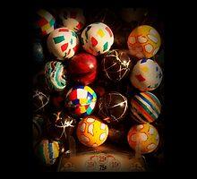 Gumball Machine in Shadow - Series - Hi-Bounce Balls - Iconic New York City by Miriam Danar