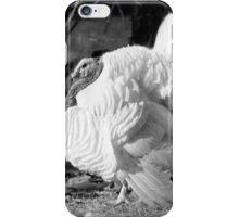 Black and White Turkey iPhone Case/Skin