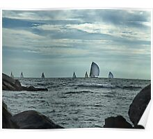 Afternoon Sail Poster