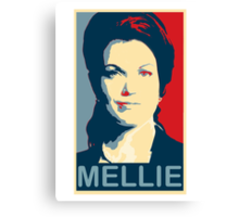 """ I will make such a scene ! "" - Mellie Grant * laptop skins, and mugs added * Canvas Print"
