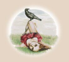 Elena and the Crow by taytayo