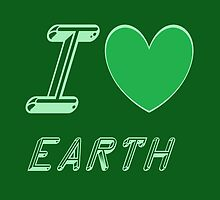 I love earth by Nami-Swaaan