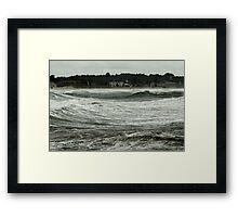 September Storm Framed Print