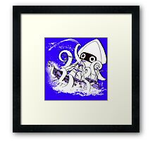 Release the Blooper! Framed Print