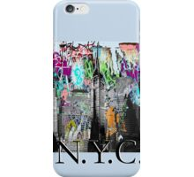 NYC street art iPhone Case/Skin