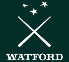 Watford School of Magicks, Simon Snow - Small Logo, white by dporcupine