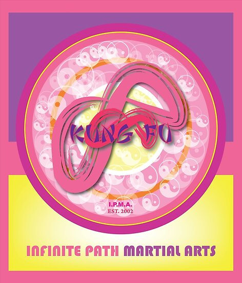 Infinite Path Martial Arts • Mandala • Pink by Robyn Scafone