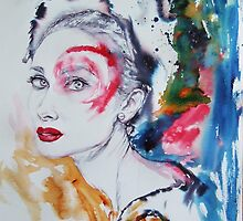 Audrey in colours by sidimona