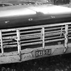 Old Ford Truck - Original Black and White Photograph by Jeanine Molnar