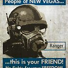 Fallout: New Vegas Propaganda Poster by jtdesigns