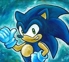 Sonic by Katie Clark