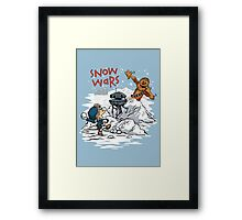 Snow Wars Framed Print