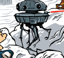 Snow Wars Sticker