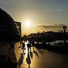 London Silhouettes  by Georgia Mizuleva
