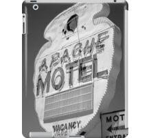 Route 66 - Apache Motel iPad Case/Skin