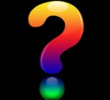 Queer Question Mark by Lafia
