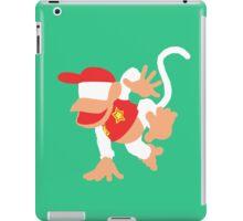 Diddy Kong Vector iPad Case/Skin