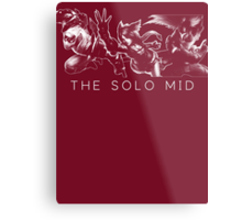 The Solo Mid Metal Print