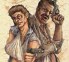 Riggs & Murtaugh  by Iantel1138