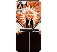 The two of us against the world iPhone Case/Skin