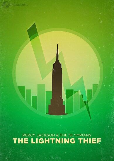 Minimalist Poster: Percy Jackson 1/5 by Risa Rodil