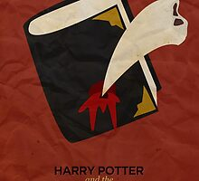 Harry Potter and the Chamber of Secrets Minimalist Poster by Risa Rodil
