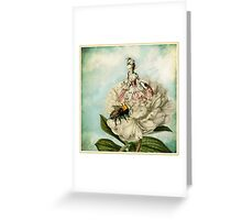 Marie and The Bee Greeting Card