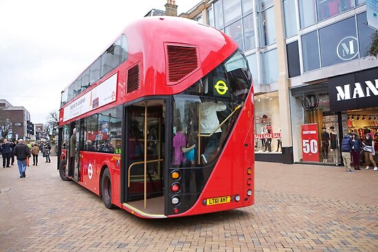 New London Bus Prototype in Bromley Kent. by Keith Larby