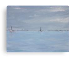 Grey day at Blakeney Canvas Print