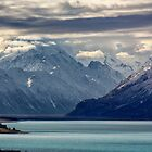 Aoraki/Mt Cook and Lake Pukaki by Charles Kosina