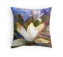 Knightshayes in April Throw Pillow