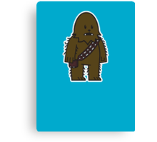 Mitesized Wookie Canvas Print