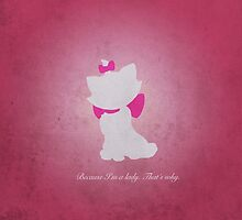 Aristocats inspired design (Marie). by topshelf