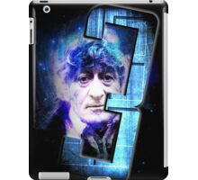 Dr Who The Third Doctor Jon Pertwee T-Shirt iPad Case/Skin