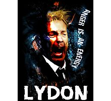 John Lydon Sex Pistols PiL T-Shirt Photographic Print